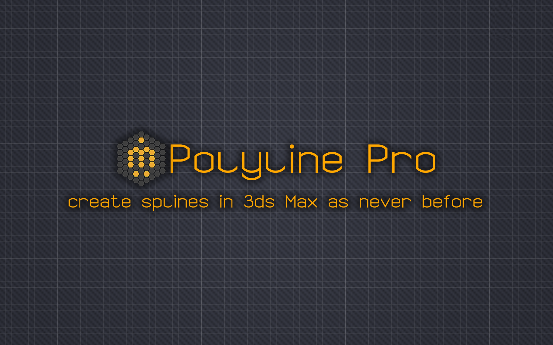 Polyline Pro Create splines in 3ds Max as never before