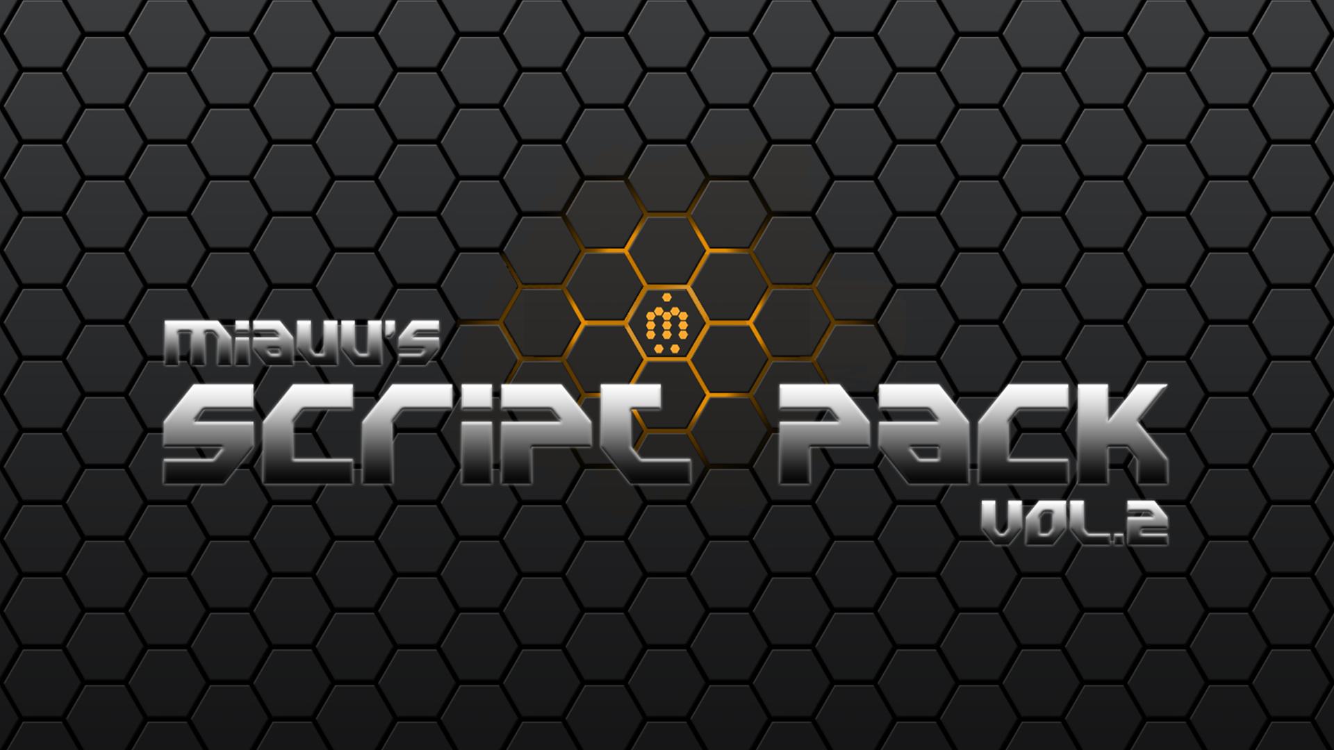 miauu's Script Pack vol 2 - miauu's Scripts & Tools for 3ds Max